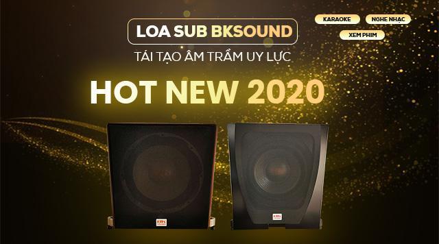 HOT: BKSound cho ra mắt sản phẩm mới- Loa sub BKSound SW512 & SW612