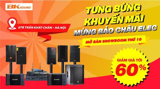 Mừng mở bán Showroom Bảo Châu Elec 287 Trần Khát Chân, giảm giá tới 60%