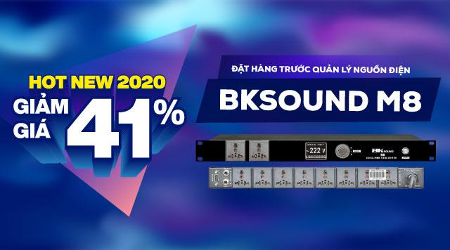 BKSound ra mắt sản phẩm mới:  Quản lý nguồn điện BKSound M8