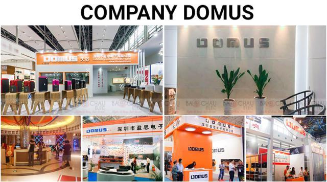 Hơn 50 năm lịch sử thương hiệu Domus