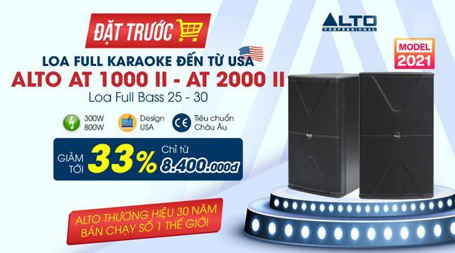 HOT: Hãng Alto cho ra mắt mẫu loa karaoke hiện đại mới nhất 2021